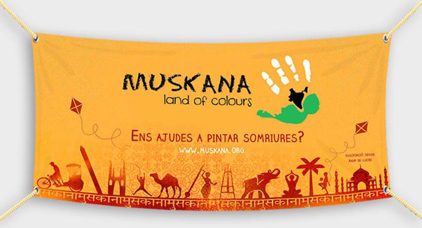 Disseny - ONG Muskana, land of colours 2