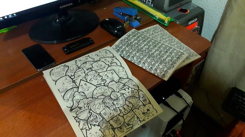 Diseño e ilustración de un Fanzine 2