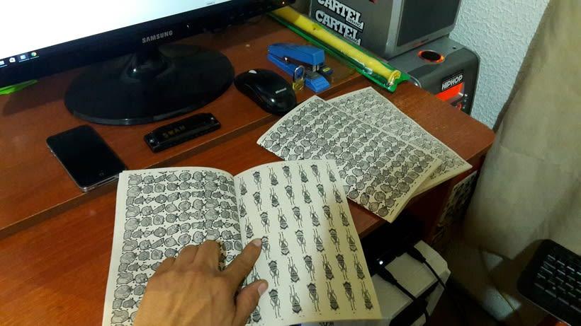 Diseño e ilustración de un Fanzine 3