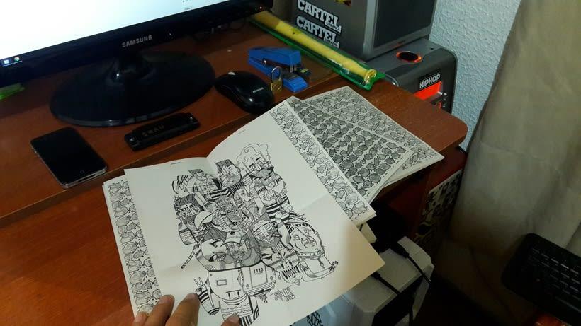 Diseño e ilustración de un Fanzine 4
