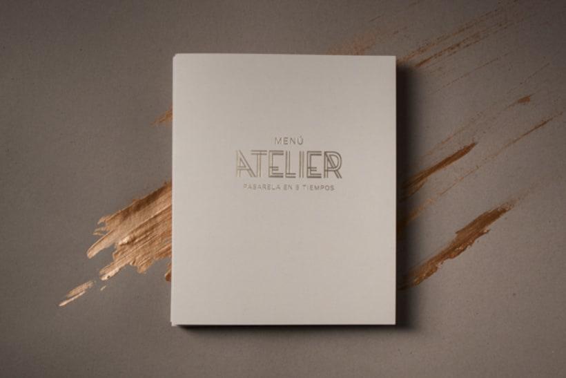 Menú Atelier 3