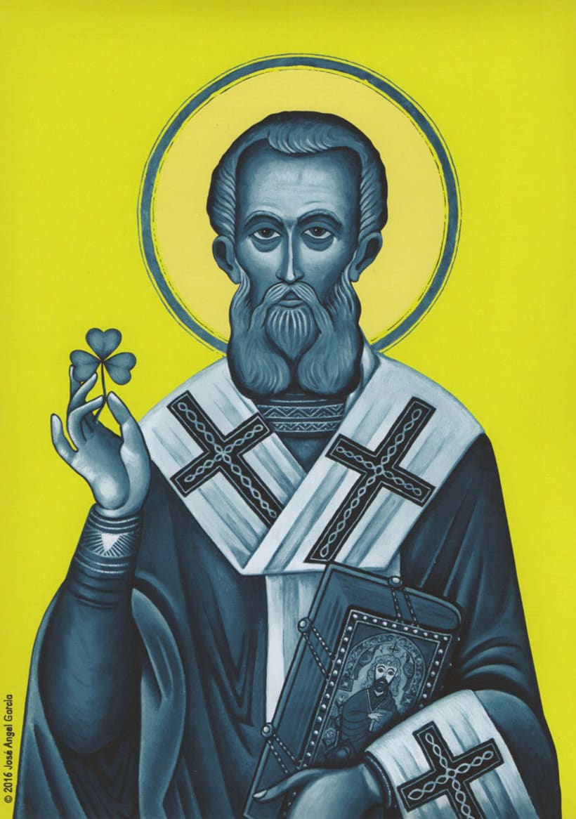 Saint Patrick in Blue 0