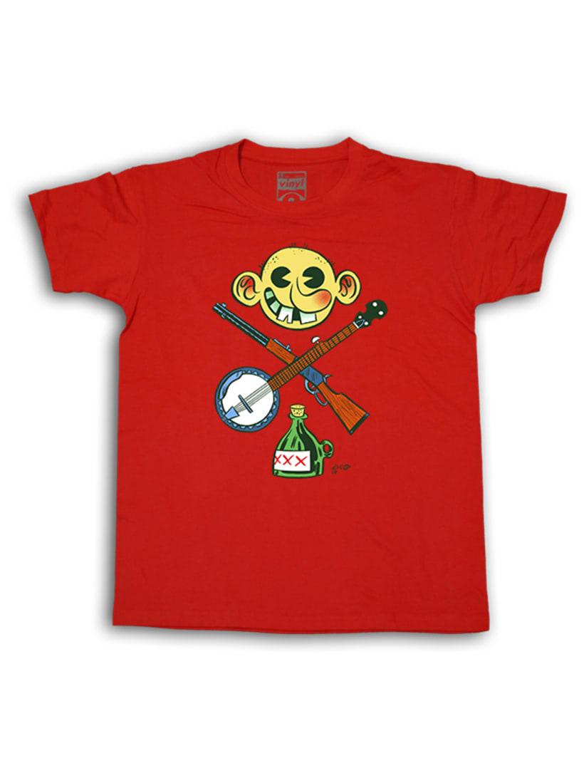 Camisetas Vinyl Eye 3