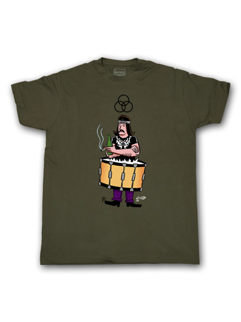 Camisetas Vinyl Eye 7