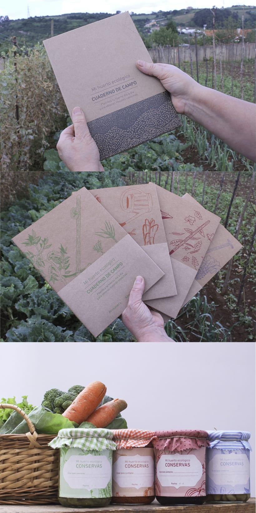 Cuaderno de campo. Mi huerto ecológico. 0