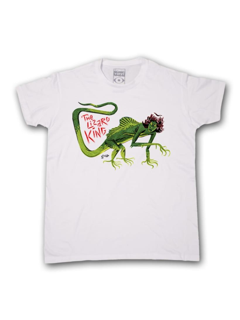 Camisetas Vinyl Eye 8