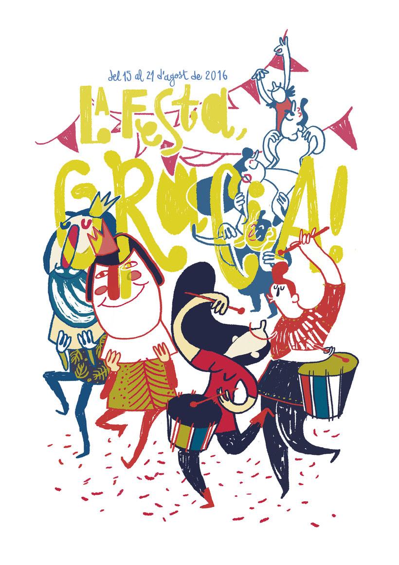 La Festa, Gràcia!! 2016 | Poster 1