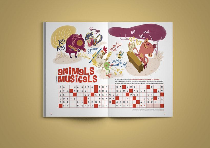 Animals musicals | Magazine illustration 0
