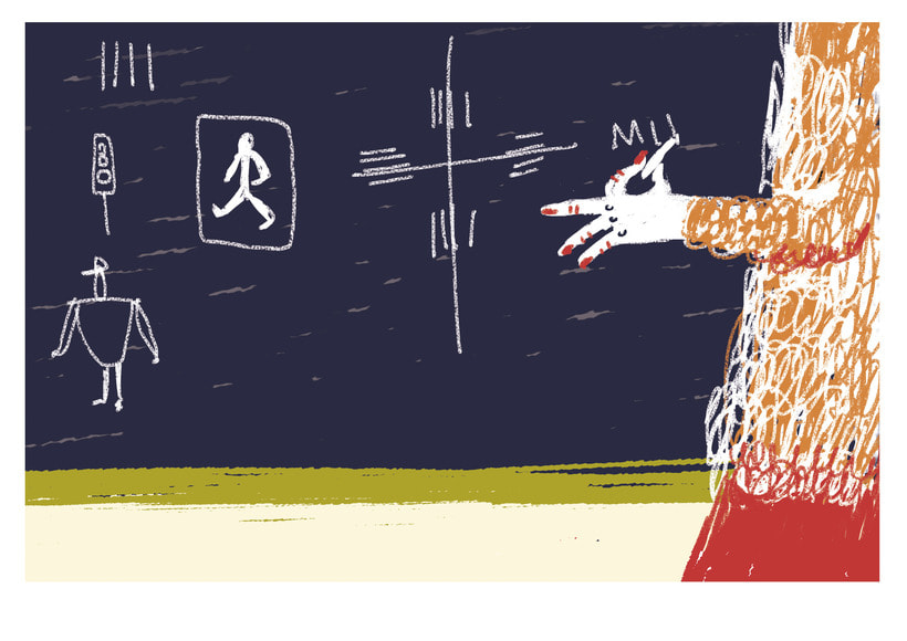 Traffic lesson | Textbook illustration 4