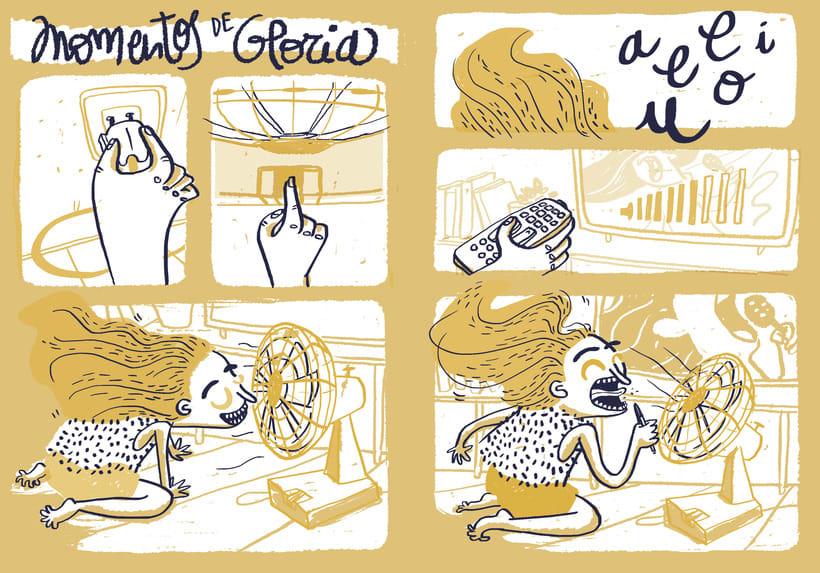 Momentos de Gloria | Comic illustration 1