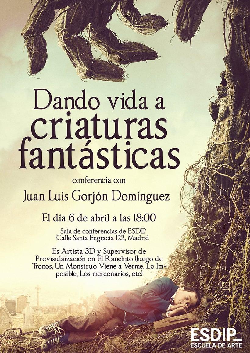Juan Luis Gorjón: Dando vida a criaturas fantásticas 1