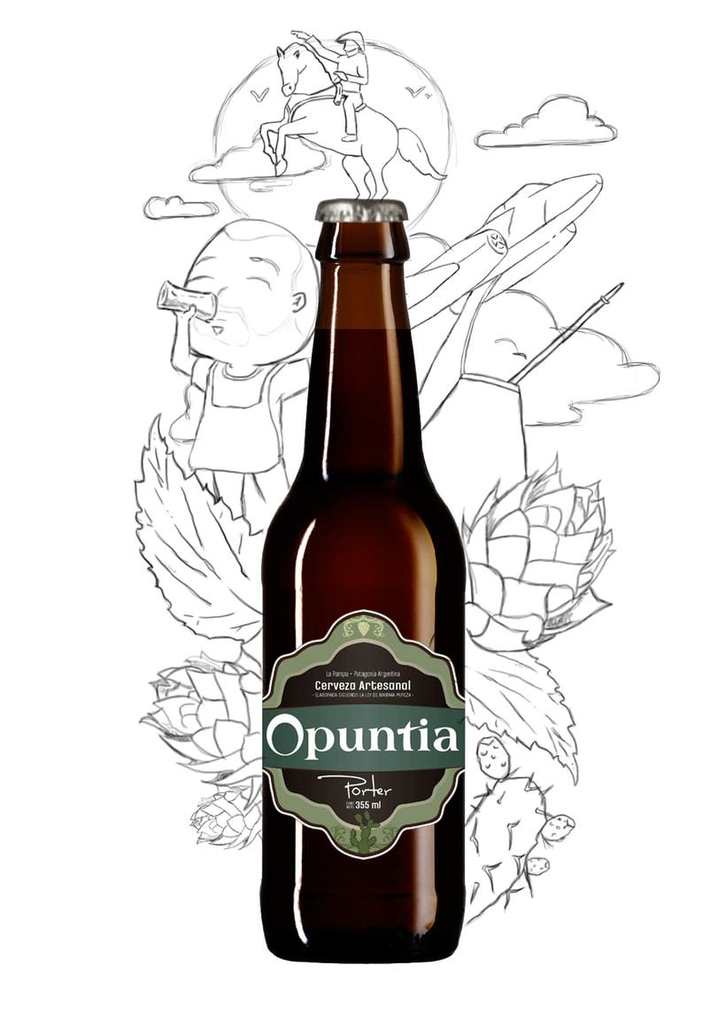 Opuntia cerveza pampeana! 0
