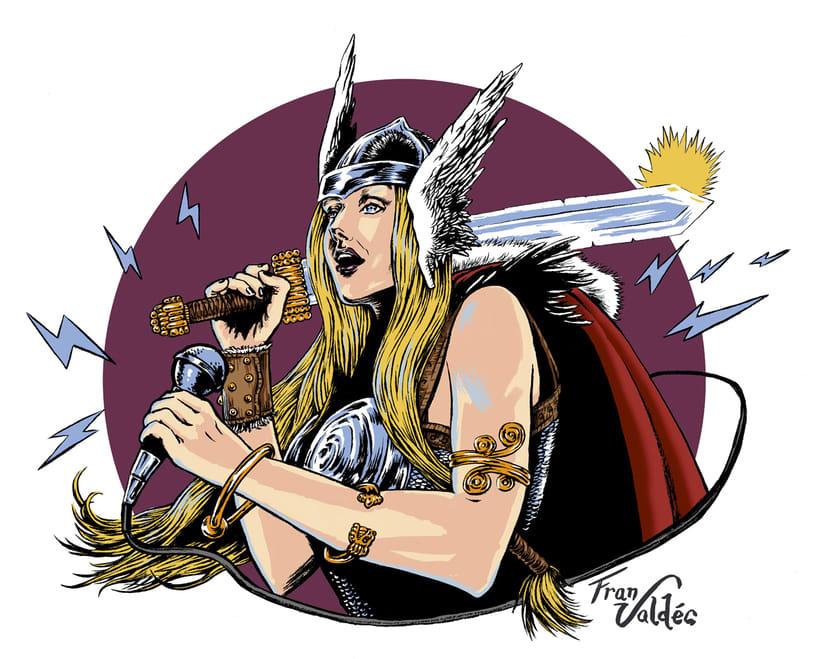 Retrato fantástico - Isa la Vikinga 0