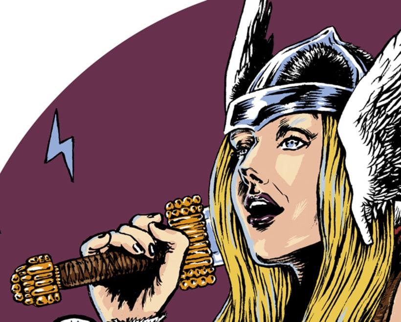 Retrato fantástico - Isa la Vikinga 3