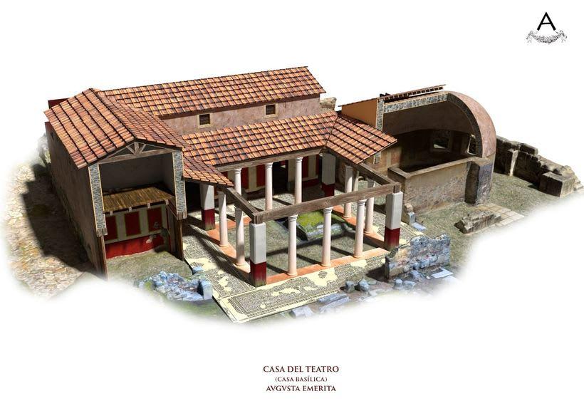 Domus romana del teatro. Augusta Emerita. 0