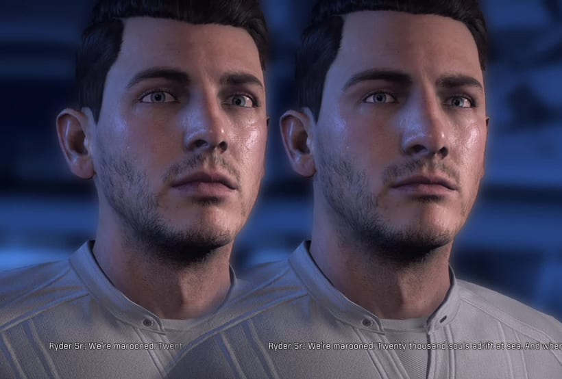 Mass Effect Andromeda: Retoque digital 4