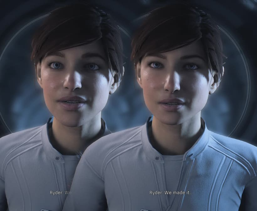 Mass Effect Andromeda: Retoque digital 1