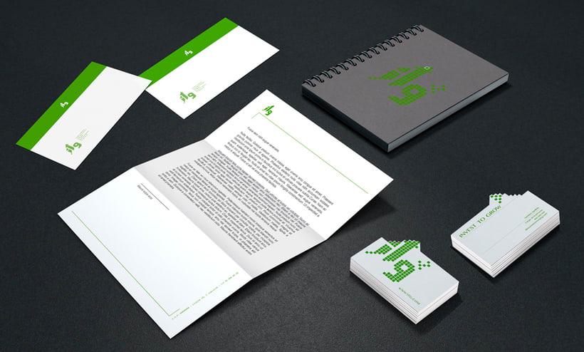 Diseño de Marca e Imagen Coorporativa de ITG 0