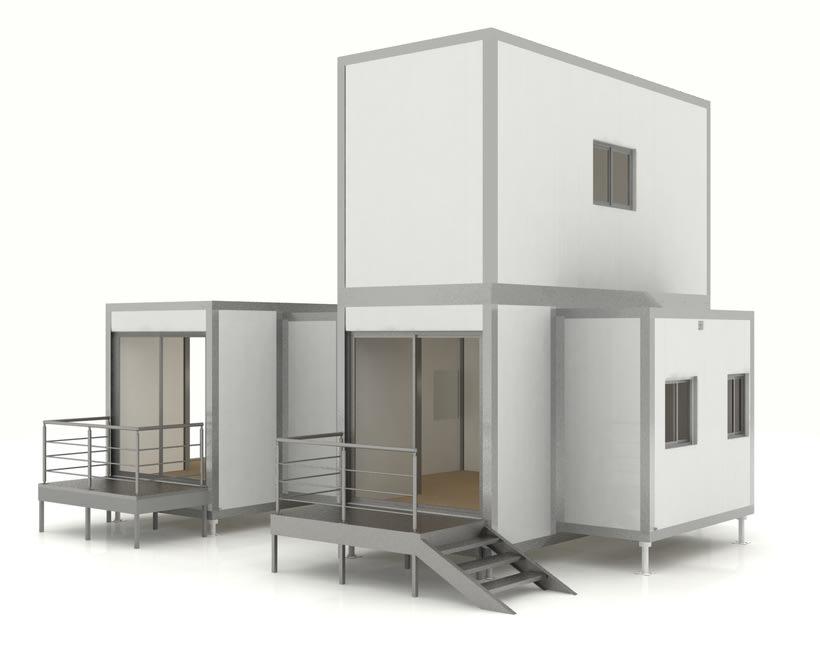 Modular housing 4