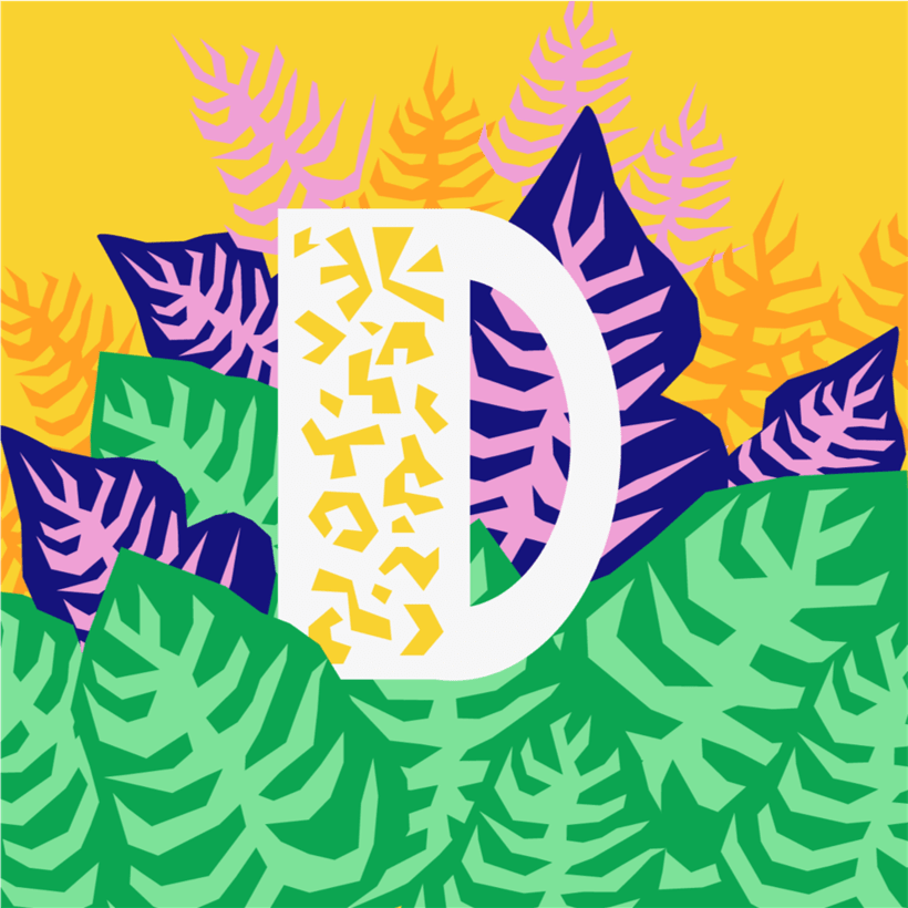 36 Days of Type // Designing letters 0