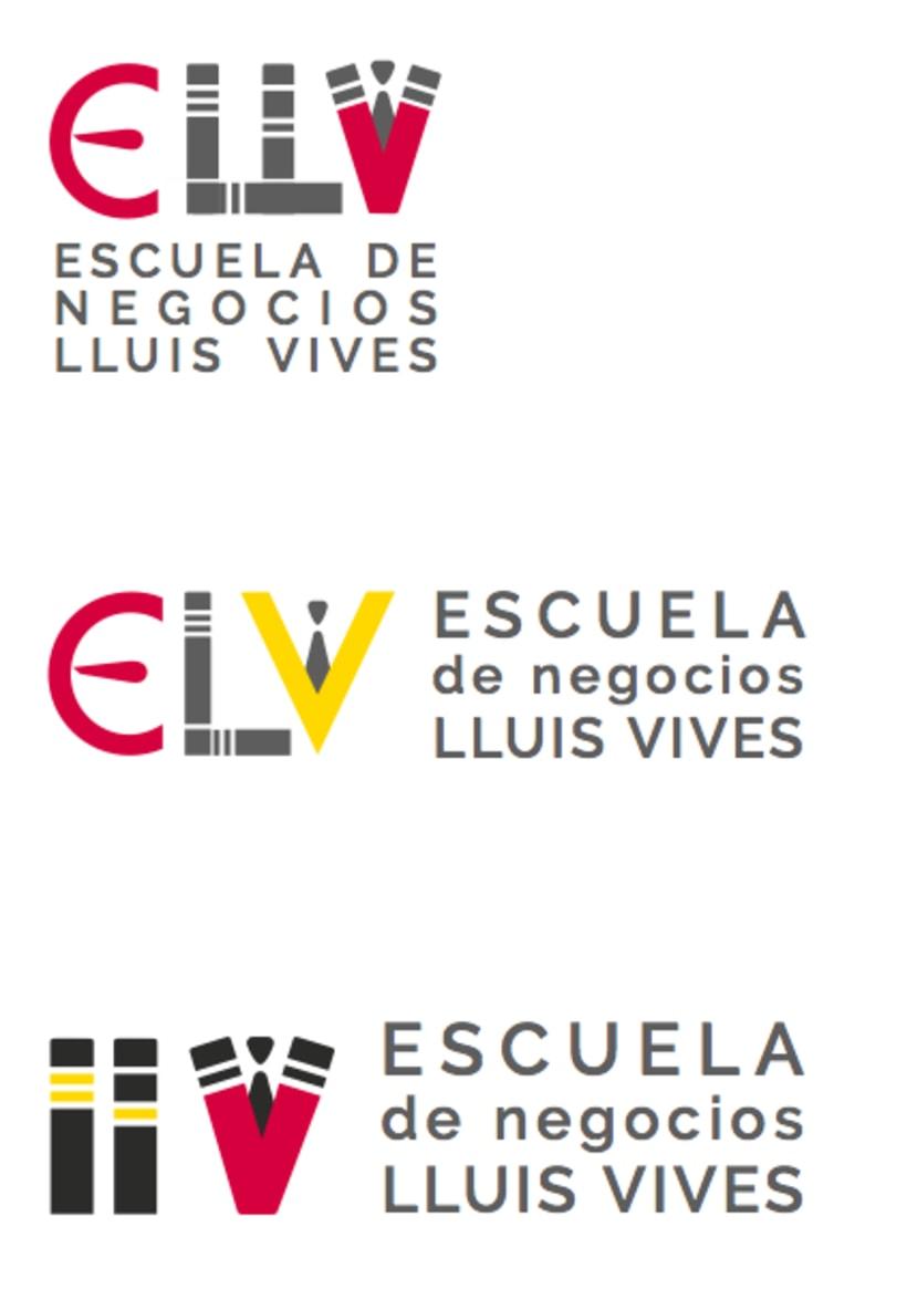 Escuela de Negocios Lluis Vives - Propuesta Nueva Identidad  0