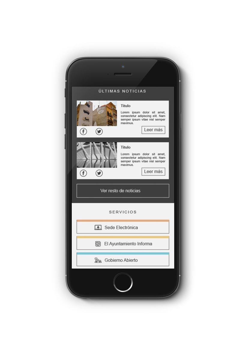 Ayuntamiento de Valencia - Propuesta nueva web (UI Design) 8