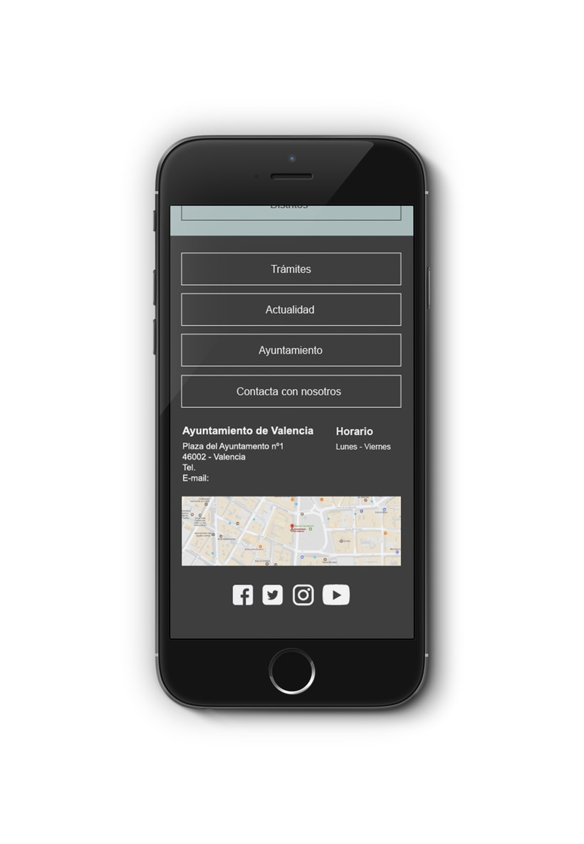 Ayuntamiento de Valencia - Propuesta nueva web (UI Design) 10