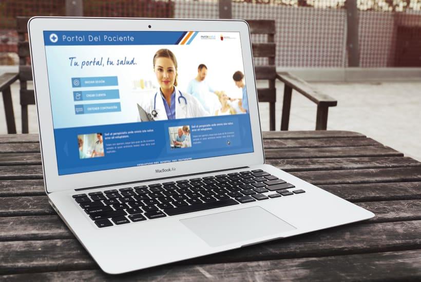 Portal del Paciente de Murcia - Rediseño web (UX/UI Design) 4