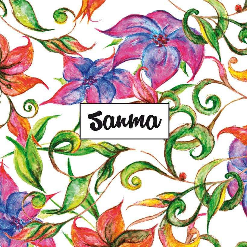 Diseño de estampados florales 5