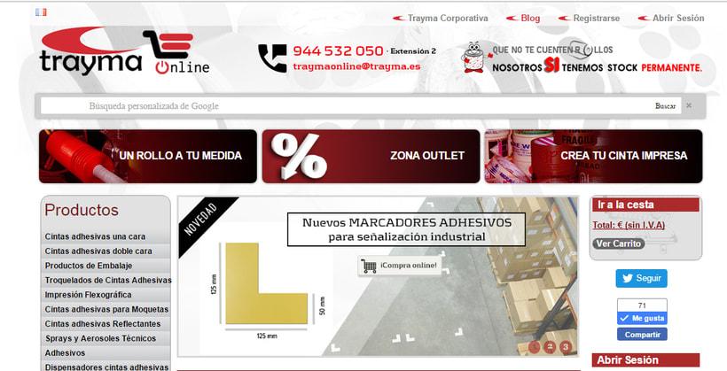 eCommerce Trayma - Tienda Online Cintas Adhesivas 3