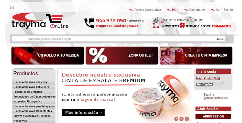 eCommerce Trayma - Tienda Online Cintas Adhesivas 4