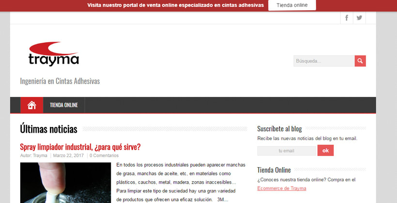 eCommerce Trayma - Tienda Online Cintas Adhesivas 7