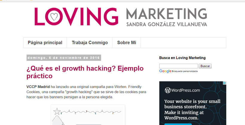Loving Marketing - Mi blog personal 0