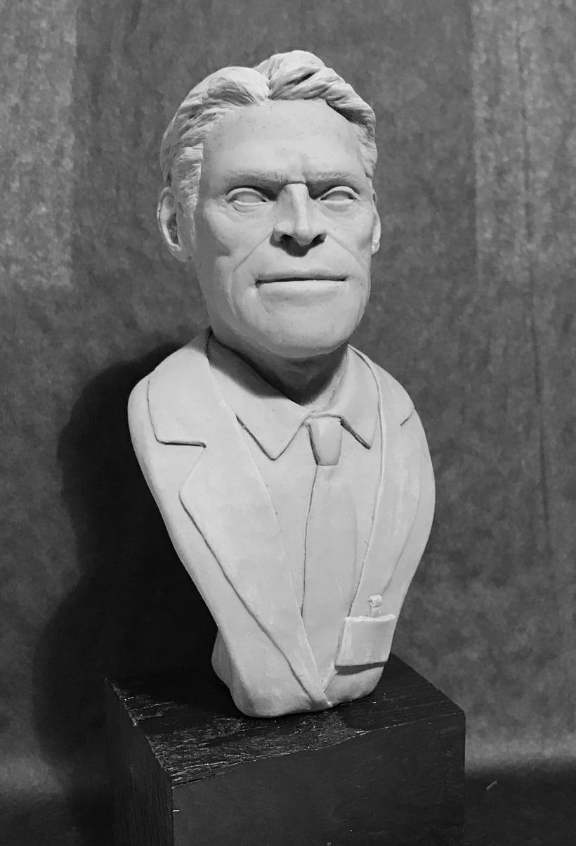 Busto miniatura 1/6 de Willem Dafoe 2