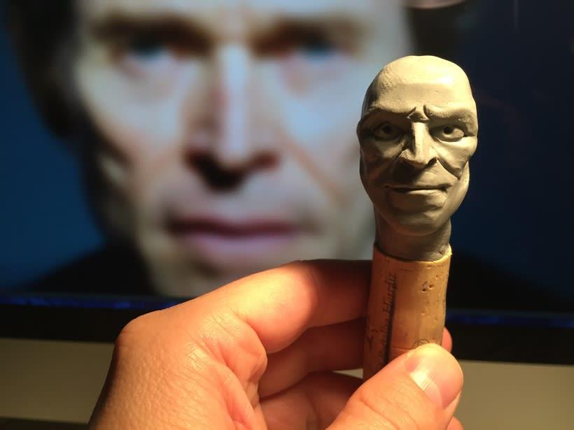 Busto miniatura 1/6 de Willem Dafoe 4