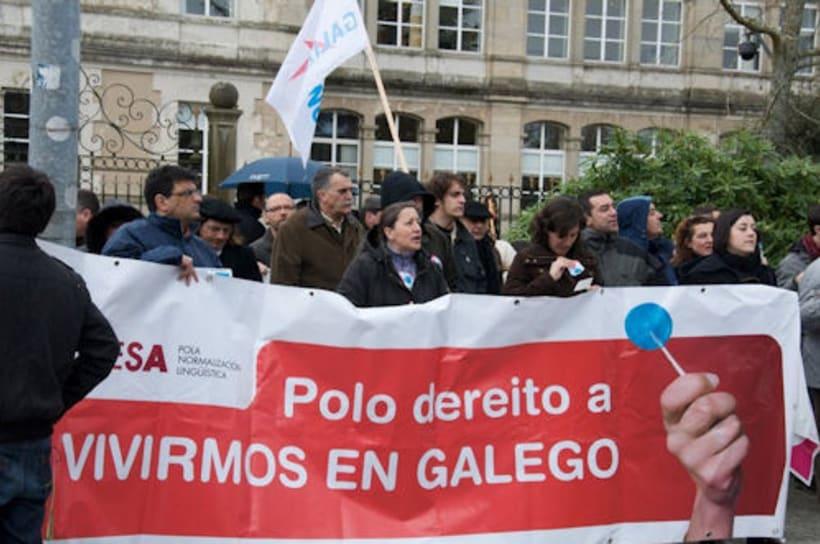 Campaña para A Mesa pola Normalización Linguistica. Galiza 2