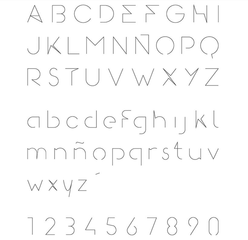 Gomeza Font / Tipografía 1