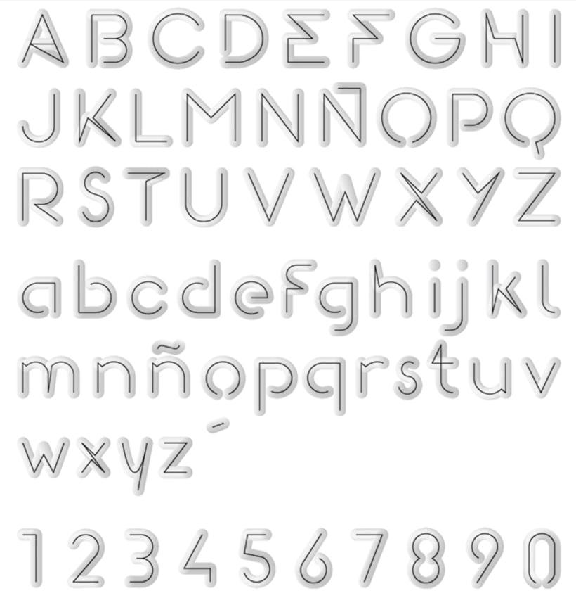 Gomeza Font / Tipografía 2