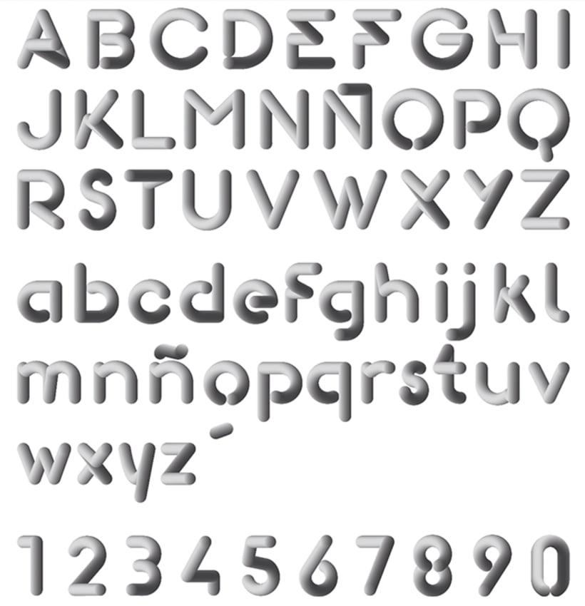 Gomeza Font / Tipografía 3