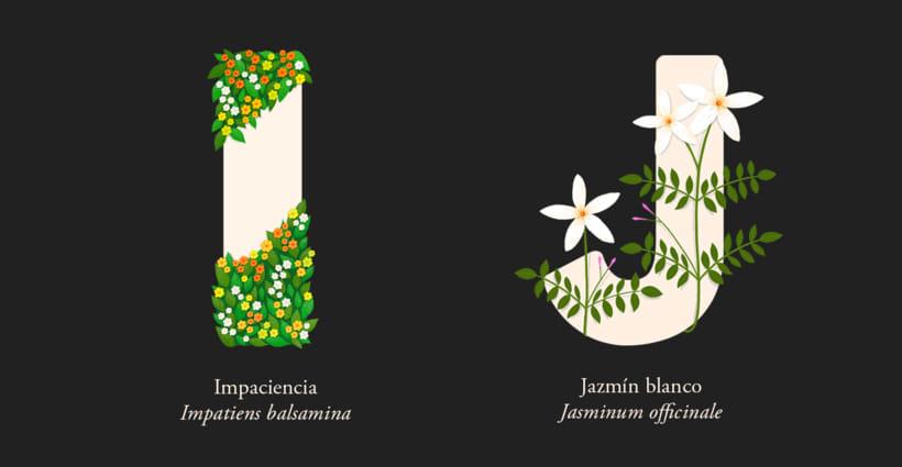 EL ABECEDARIO DE PLANTAS Y FLORES DE PIXELBOX 6