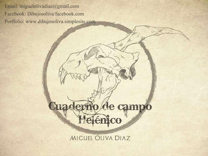 Cuaderno de Campo Helénico 0