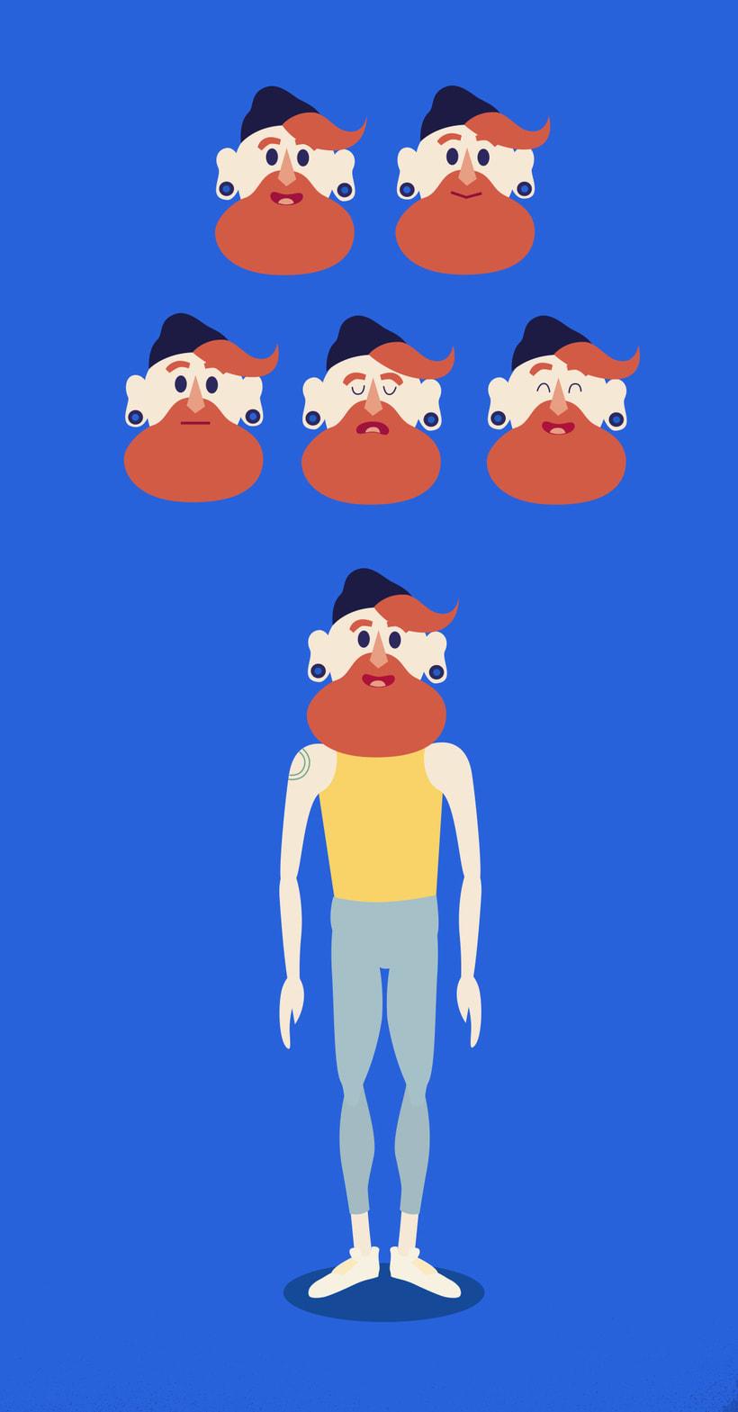 Personaje Hip (7 egos) 6