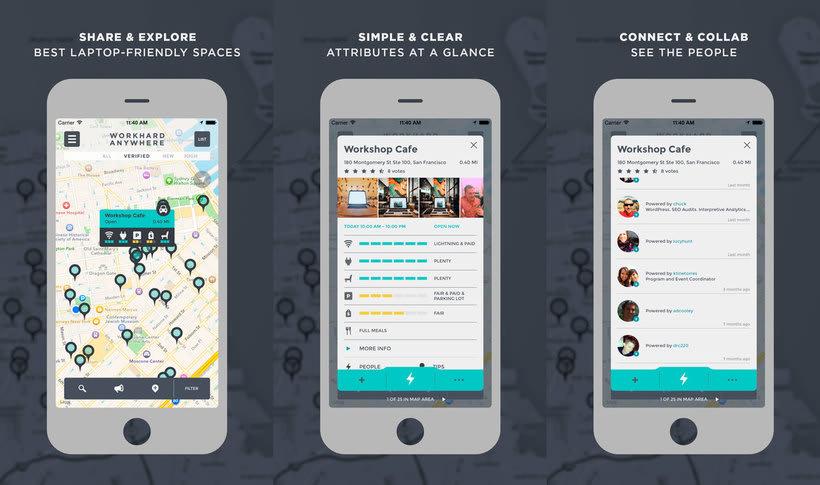 Work Hard Anywhere, la app para trabajadores sin oficinas 3