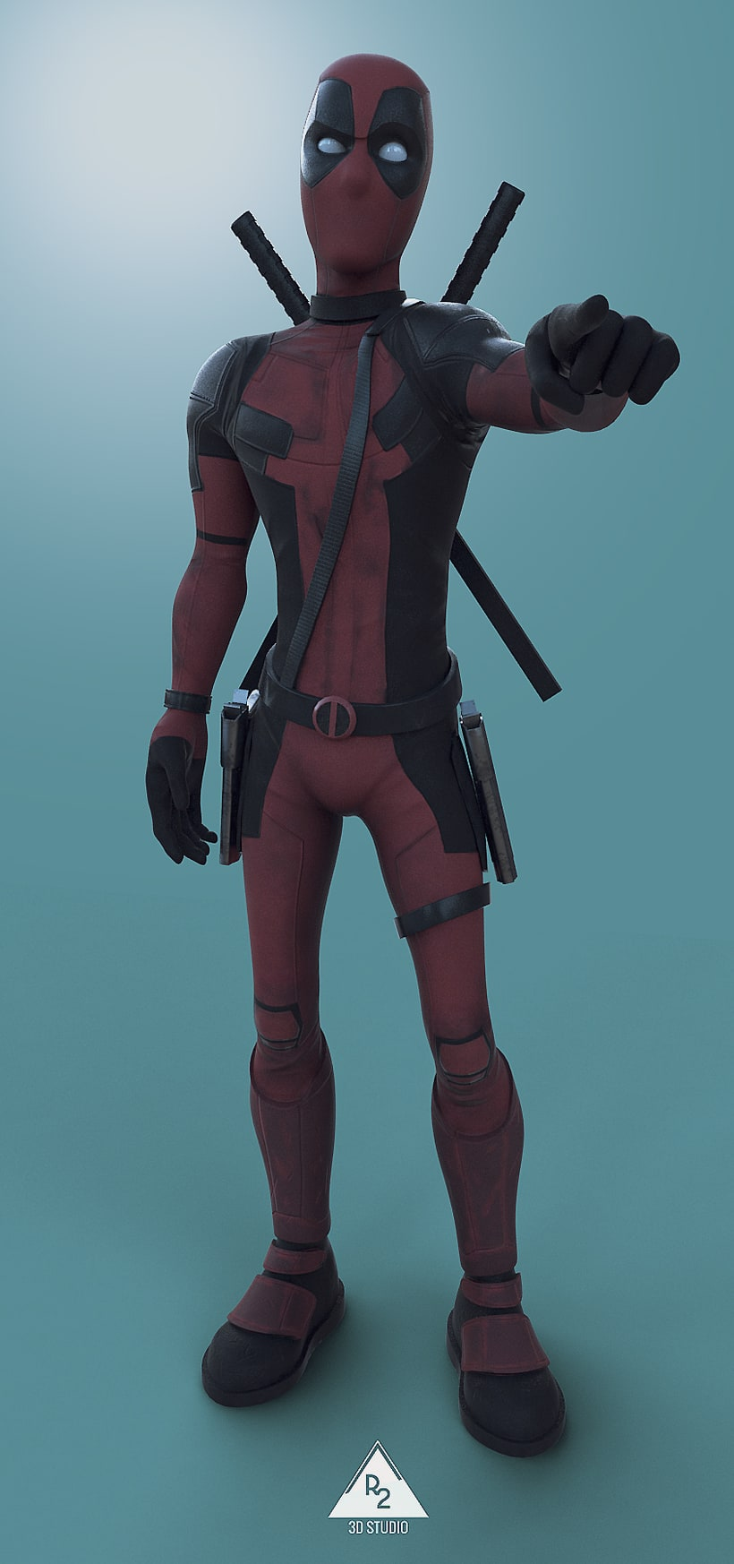 Deadpool cartoon  0