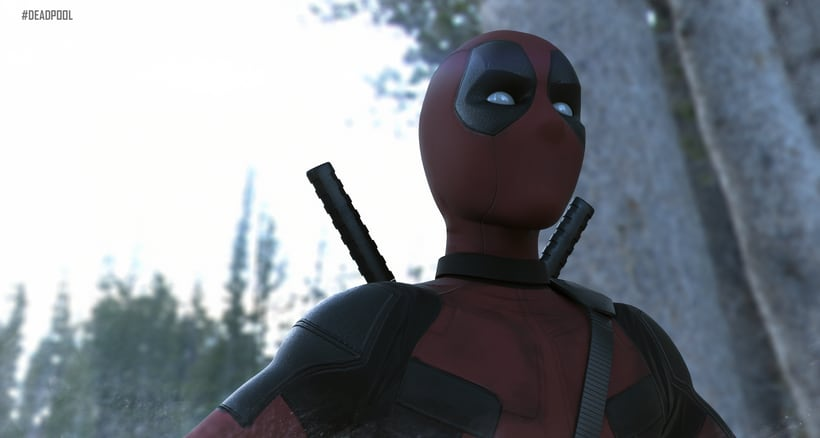 Deadpool cartoon  1
