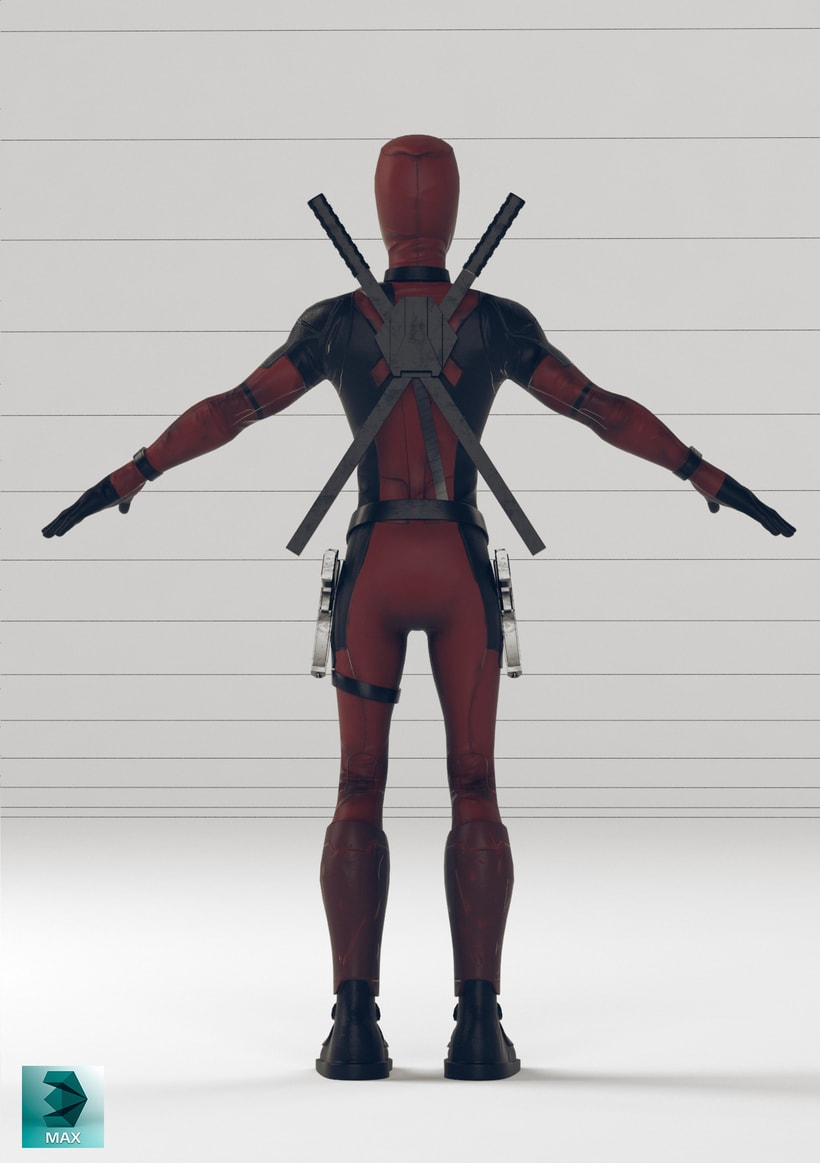 Deadpool cartoon  3
