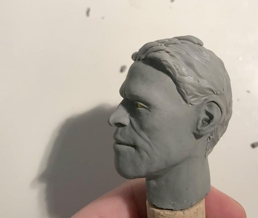Busto miniatura 1/6 de Willem Dafoe 7