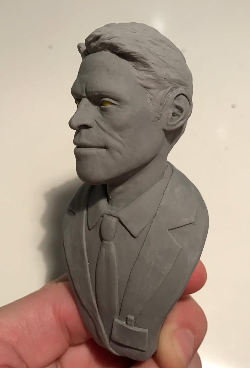 Busto miniatura 1/6 de Willem Dafoe 11