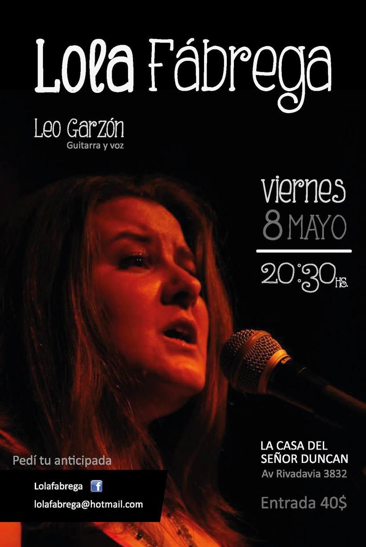 Lola Fábrega Cantante 0