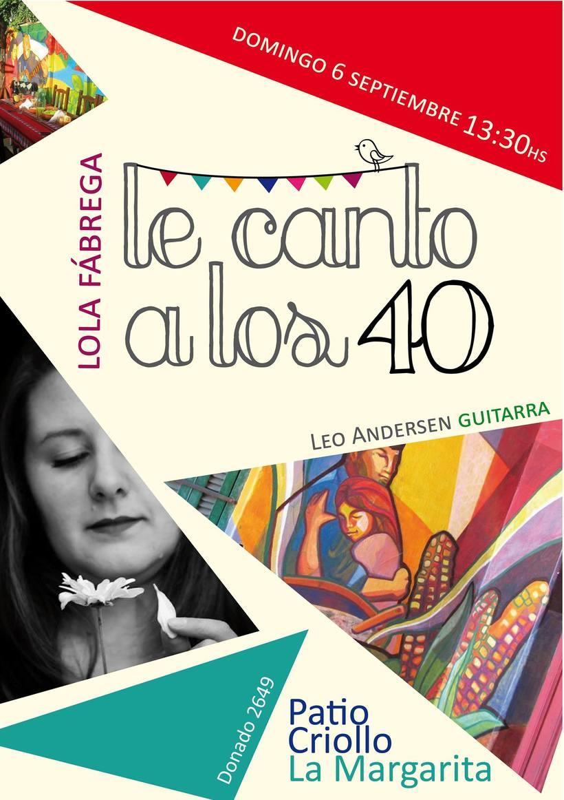 Lola Fábrega Cantante 1